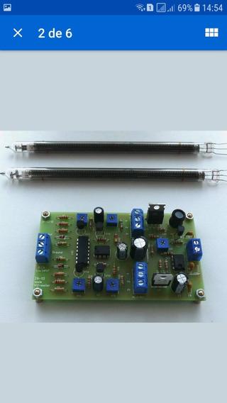 Vu Meter A Valvula Stereo