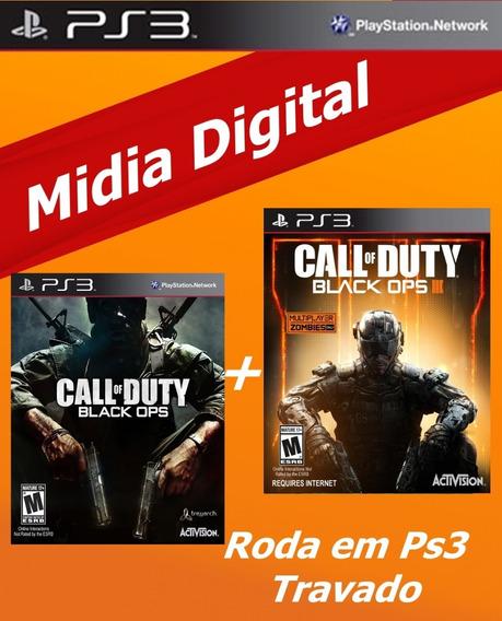 Promoção Call Of Duty Black Ops 1, 3 Envio Rápido