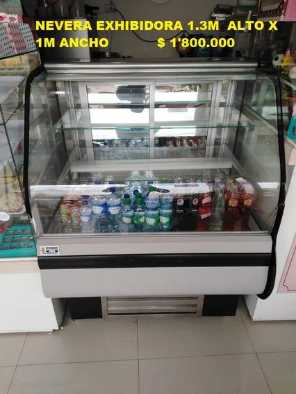Vitrina Refrigerador Con Luz Oferta - Platos Biodegradables