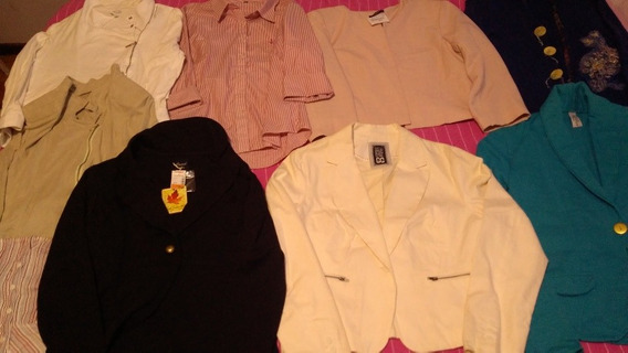 Lote Feminino Gg Tamanho 44 Blusa Blazer Camisa Frio Inverno