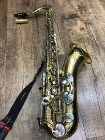 Sax Tenor Yamaha Yts-26-id Serie Gold Sta Ouro Orquestra Ccb