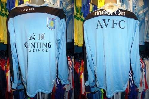 Aston Villa 2013 Moletom De Treino Tamanho 3g.