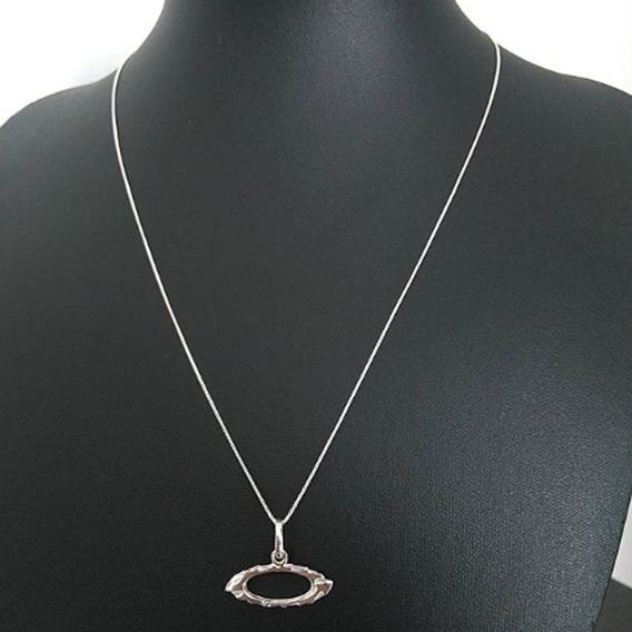 Gargantilha Feminina 45cm Prata 925 $100,00
