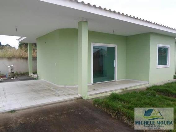 Casa Para Venda Em Araruama, Novo Horizonte, 2 Dormitórios, 1 Suíte, 1 Banheiro, 2 Vagas - 84