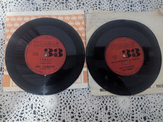Ray Conniff X 2 Simples (discos De Vinilo)