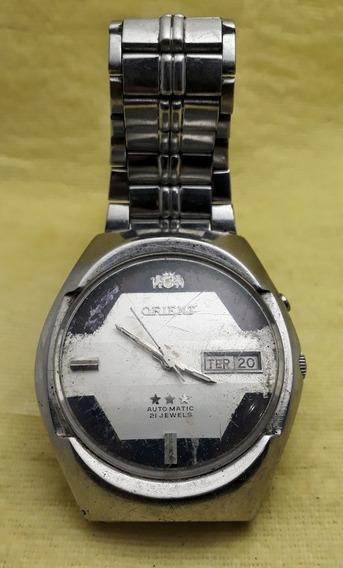 Relógio Orient Automático Mostrador Duas Cores