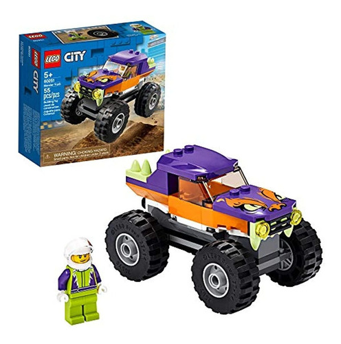 Lego City Monster Truck Juego De Juegos Lego Para Niños