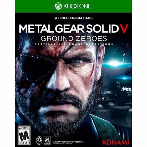 Metal Gear Solid V Ground Zeroes Xbox One Lacrado