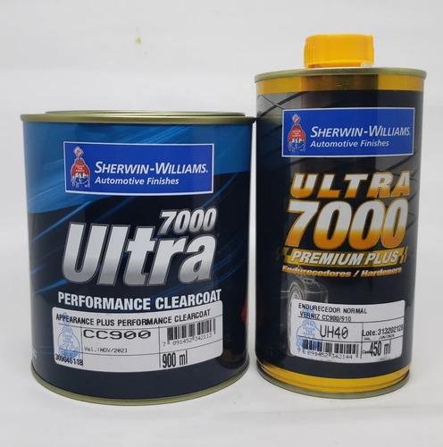 Barniz Clear Cc900 Ultra 7000 1,5 Lt + Cat Sherwin Automotor