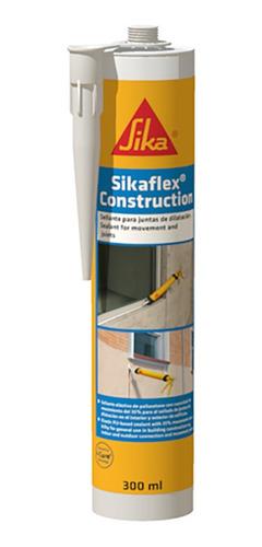 Sellador Elastico Sikaflex Construction*300cc Blanco