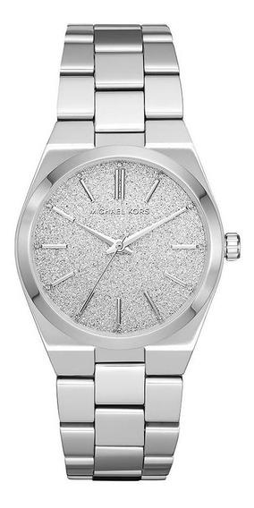 Relógio Michael Kors Feminino Channing Prata Mk6626/1kn