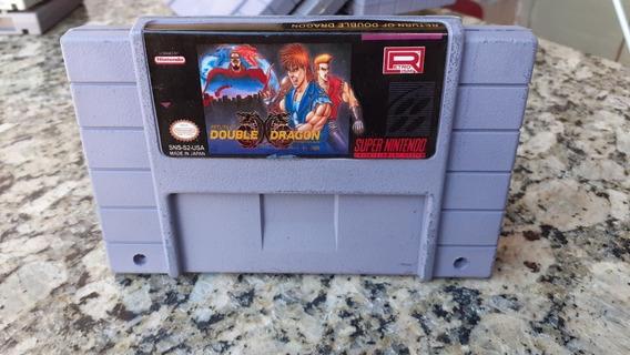 Super Double Dragon Snes Super Nintendo Paralelo
