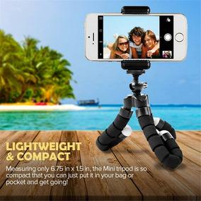 Mini Tripé Flexível Para Celular Go Pro Câmeras iPhone