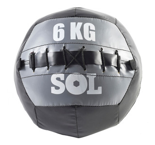 Pelota Con Peso Funcional Medicine Ball 6 Kg Pesas Sol