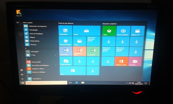 Pc Desktop Core 2 Duo 3gb Hd 320gb Dvd