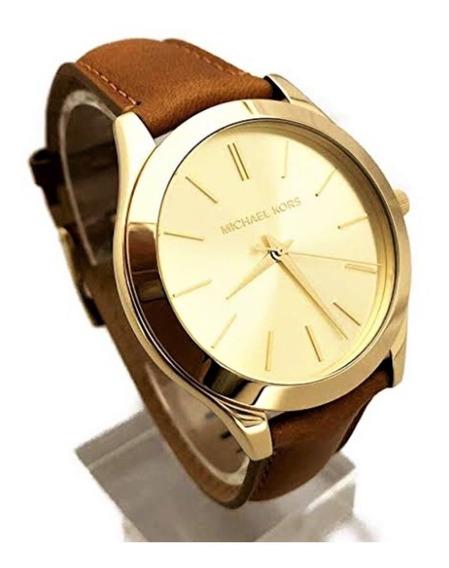 Relógio De Pulso Feminino Michael Kors Aço Dourado Mk2465