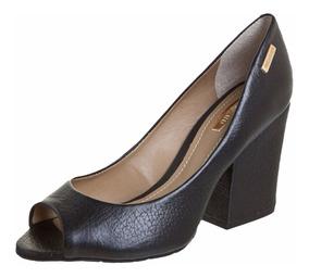 Sapato Dumond Original Couro Preto Tamanho 34 -cod.: 4108490