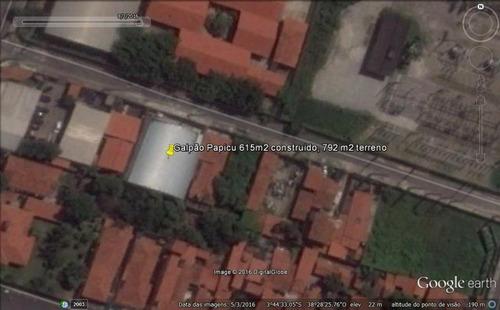 Imagem 1 de 1 de Galpão À Venda, 615 M² Por R$ 2.400.000,00 - Papicu - Fortaleza/ce - Ga0006