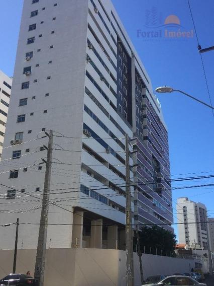 Apartamento 118m² 3 Quartos,(1 Suíte) 2 Vagas Na Av Santos Dumont, Cocó, Fortaleza. - Ap0257