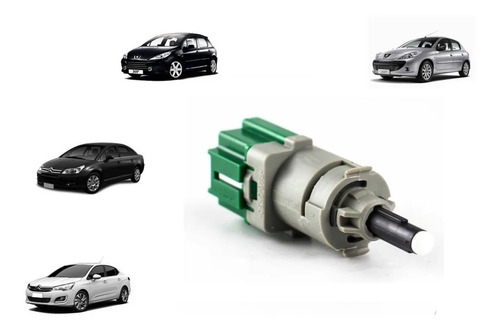 Imagem 1 de 1 de Interruptor Pedal Sensor Luz Freio Citroen C4 Ds3 Original