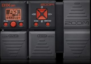Pedalera Zoom Multiefecto Para Bajo B1xon C/pedal Expresion