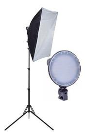 Iluminador C/ 1 Softbox 50x70 126 Led Fotografia E Filmagem