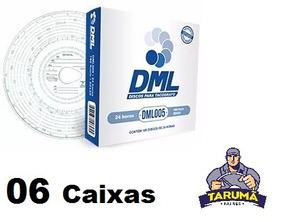 Disco Tacografo Diario 180km Dml005 Dml 6 Cx.