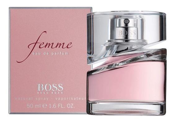 Perfume-hugo-boss-femme-feminino-50ml-promoção