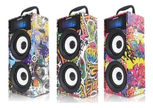 Parlante Portatil Bluetooth Panacom T14 Sd Aux Radio Fm