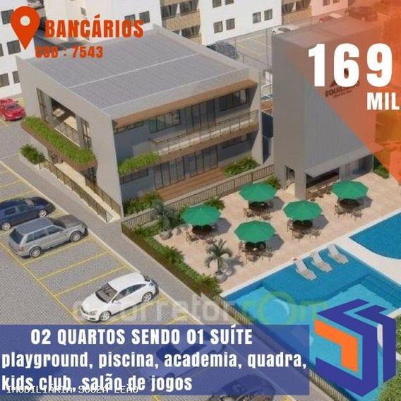 Apartamento Para Venda Em João Pessoa, Bancarios, 2 Dormitórios, 1 Suíte, 1 Banheiro, 1 Vaga - 7543