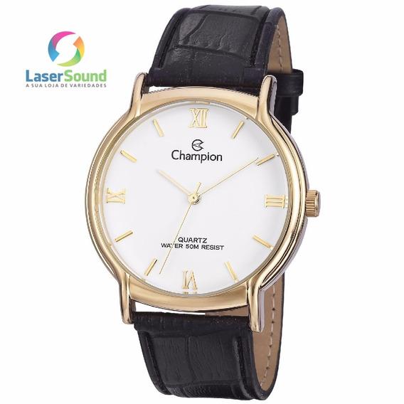 Relógio Champion Social Masculino Cn20006b, C/ Garantia E Nf