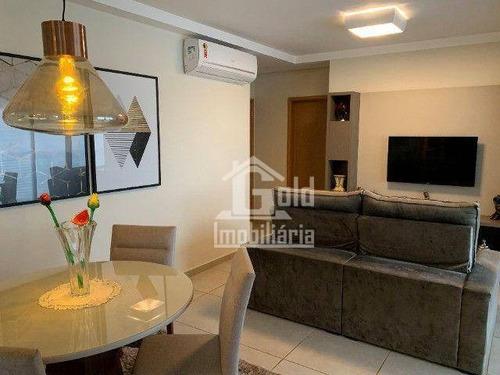 Imagem 1 de 15 de Apartamento Com 3 Dormitórios À Venda, 108 M² Por R$ 720.000 - Jardim Botânico - Ribeirão Preto/sp - Ap4595