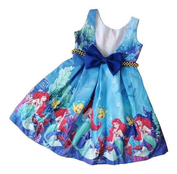 Vestidos Sirenita Ariel