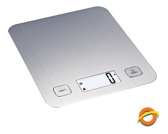 Balanza De Cocina Digital Acero Mide 1 Gramo Precision