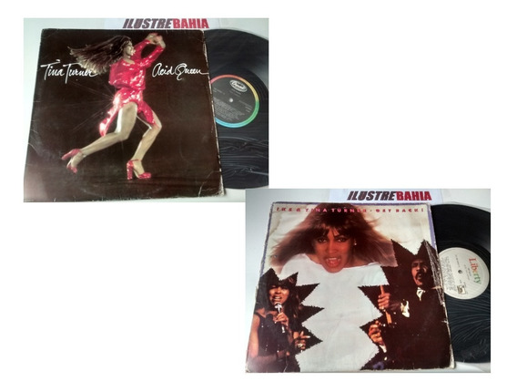 Kit 02 Lps Tina Turner Acid Queen+ Lp Ike Tina Get Back 1985