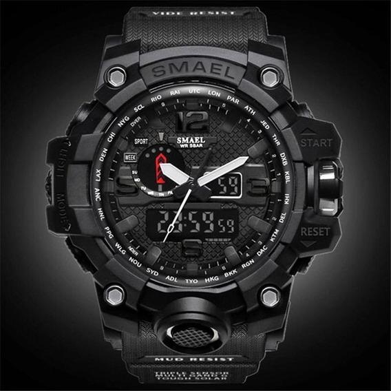 Relógio Smael 1545 Militar Original - Pronta Entrega 24h