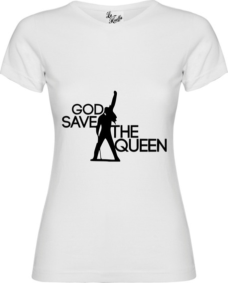Polera De Mujer Queen - God Save The Queen / Lho