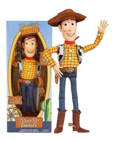 Xerife Woody Toy Story Disney (fala 30 Frases Em Ingles)