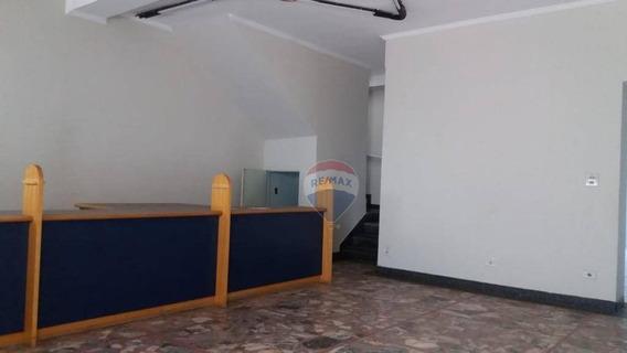 Salão Para Alugar, 220 M² Por R$ 4.000/mês - Centro - Nova Odessa/sp - Sl0078
