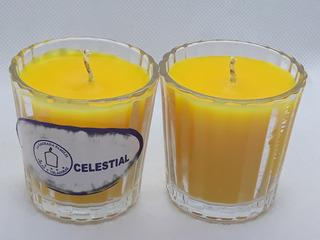 Velas / Veladoras Con Aroma Vaso De Cruz - Mezcalero