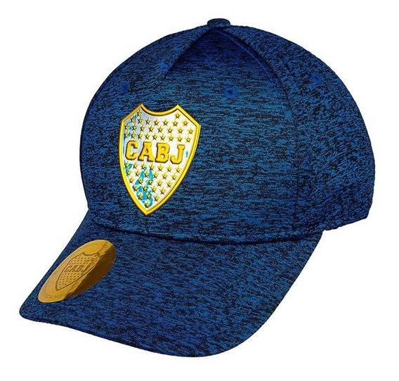 Gorra F1 Boca Juniors Oficial Jaspeada Con Escudo