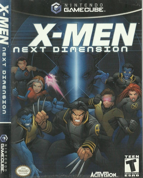 Nintendo Gamecube X-men Next Dimension
