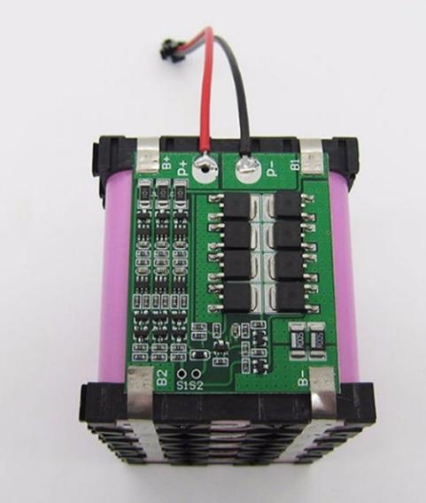 Proteção Bms 3s Para 3x Baterias Lítio Pcb Bms 25a
