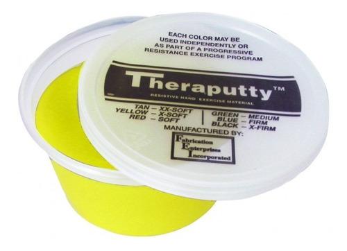 Plastilina Terapeutica Amarillo X-suave 120gr Fisioterapia