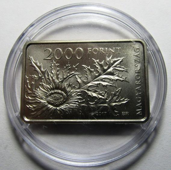 Hungria Moneda 2000 Forint 2017 Parque Nacional Bukk Km#920