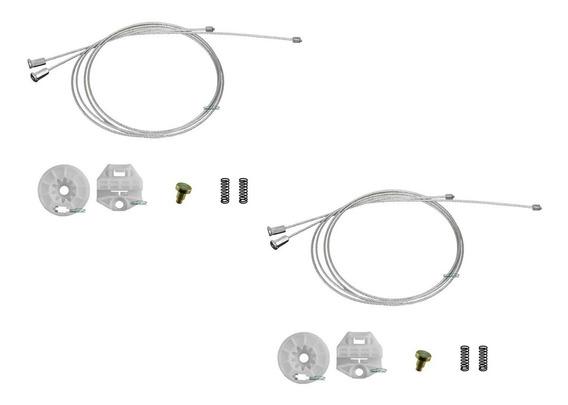 2 Kit Reparo Maquina De Vidro Eletrico Do Astra Traseiro