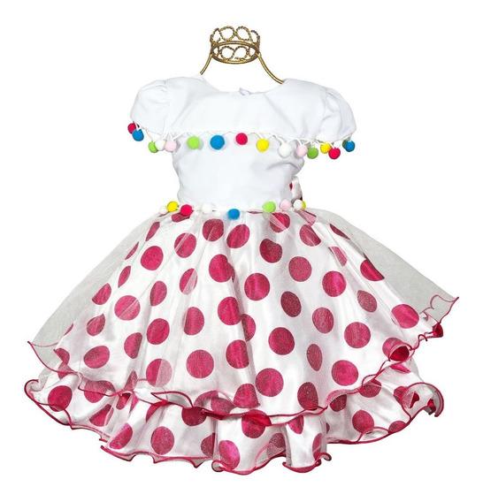 Vestido Palhacinha Tema Circo Lindo 1 Ao 4 Aniversário Festa