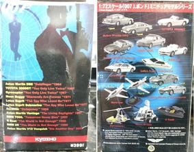 007 James Bond Kyosho 1/72 - Coleção Completa