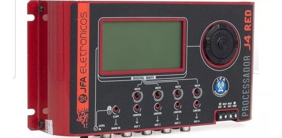 Jfa J4 Pro - Equalizador Processador Crossover 4 Vias Rca