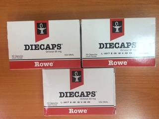 Diecaps Orlistat 60m X90cap - Unidad a $1110